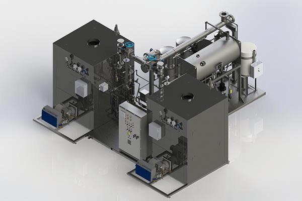 Dual Boiler Modular Steam System